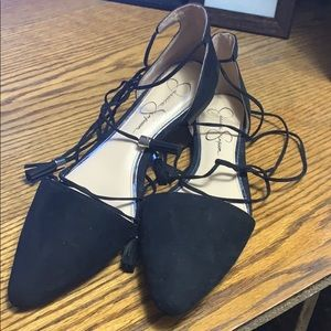 Jessica Simpson pointed toe flat